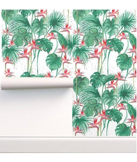 JUNGLE Strelizia Wallpaper