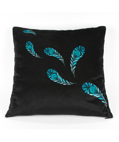 Cushion PAISLEY Nero