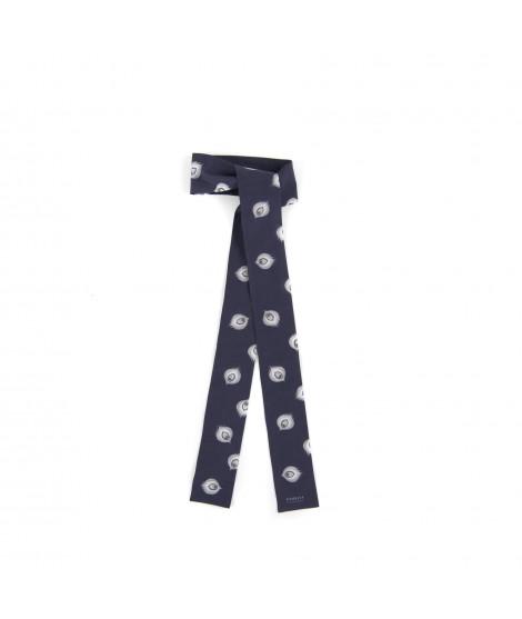 Skinny scarf HERA blue