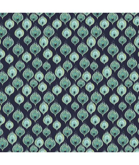 Microfibre PAVANE  blue