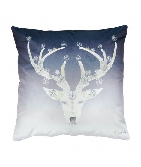 Cushion DEER HERITAGE blue