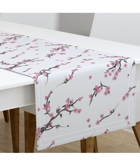 Table runner SAKURA-Twill