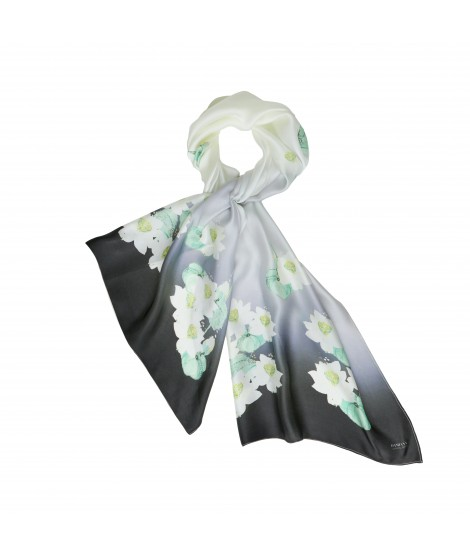 Scarf LOTUS silk