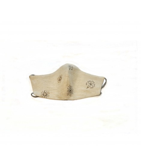Face mask HERITAGE-2/ linen