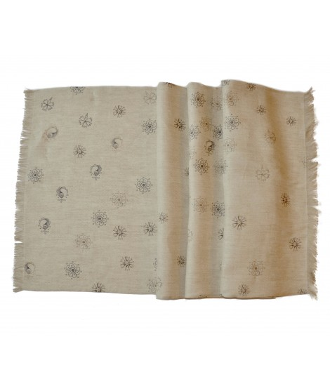 Table runner HERITAGE -linen