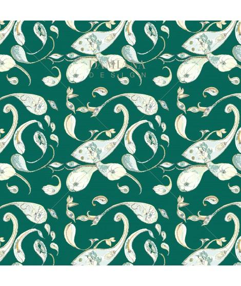 Pattern PAISLEY Green