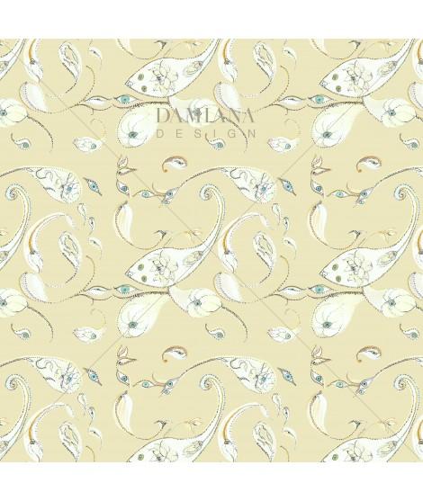 Pattern PAISLEY Vanilla